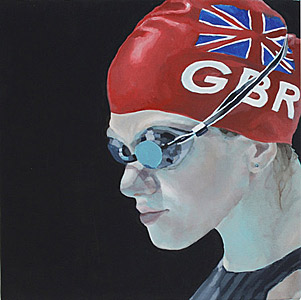 Olympics painting